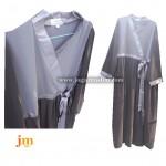 Jual Jubah Akhwat Dewasa Model Hanbok Warna Abu-Abu + Jilbab
