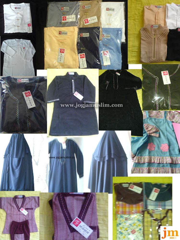 Jual Busana Muslim Al Mubarok Collection