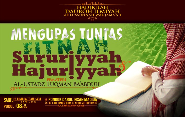 Kupas Tuntas Fitnah Sururiyyah Hajuriyyah
