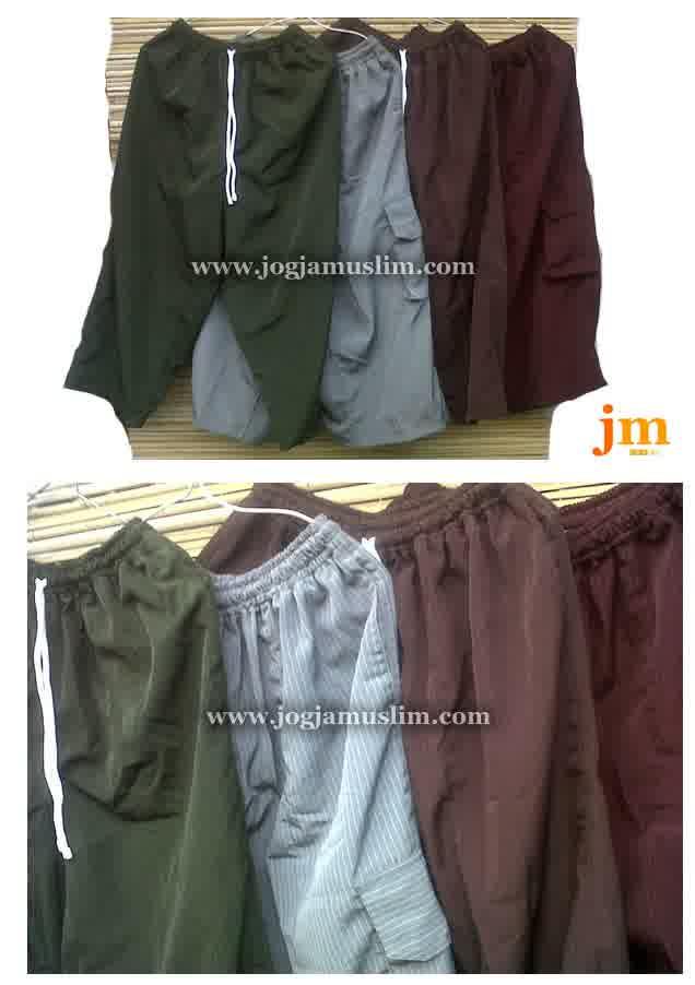 Jual Celana Sirwal Motif Aneka Warna