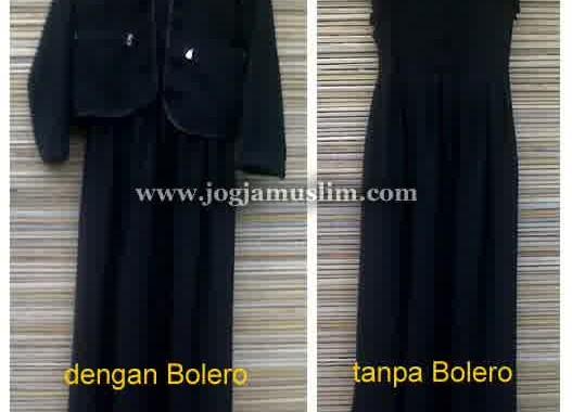 Jual Setelan Akhwat Bolero Two in One
