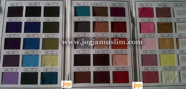 Katalog Warna Kain Jogja Muslim