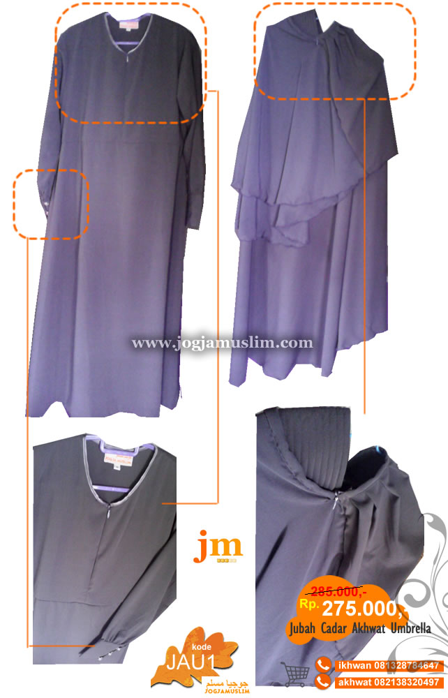 Jubah Cadar Akhwat Model Umbrella