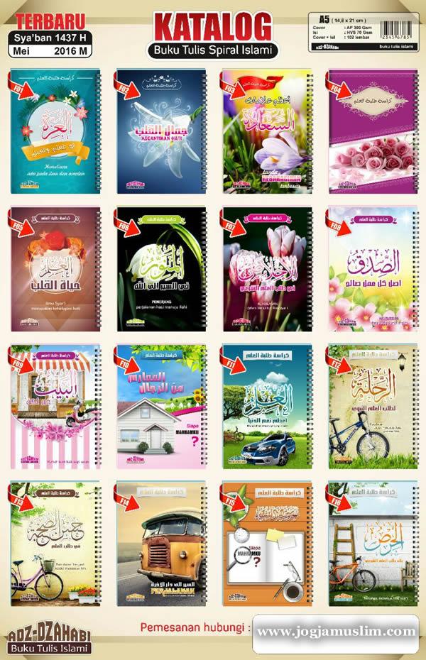 Buku Tulis Anak Islam