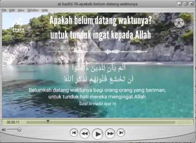 Apakah Belum Datang Waktunya Untuk Tunduk Mengingat Kepada Allah, Al hadid ayat 16