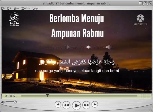 Berlomba Menuju Ampunan Rabmu, Al Hadid 21, Tadabur Al Quran