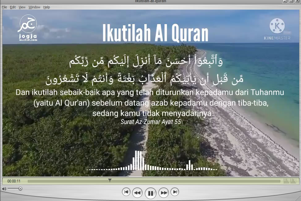 Ikutilah Al Quran, Az Zumar 55