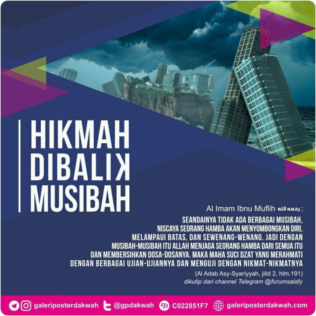 dibalik musibah