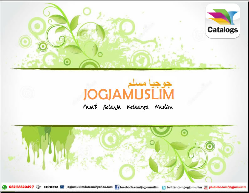 Brosur Katalog terbaru jogjamuslim